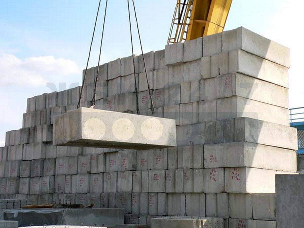 Фундаментные ЖБИ блоки